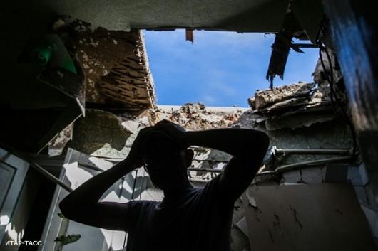 В результате артобстрела в Славянске госпитализированы 7 человек