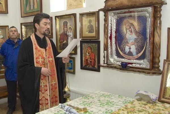 Украинская православная церковь подтвердила гибель священника на блокпосту в Донецкой области