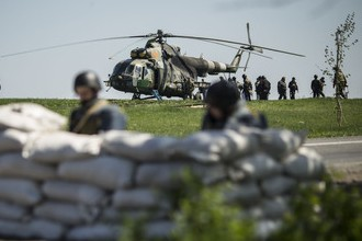 На штурм Луганска брошены танки и пушки