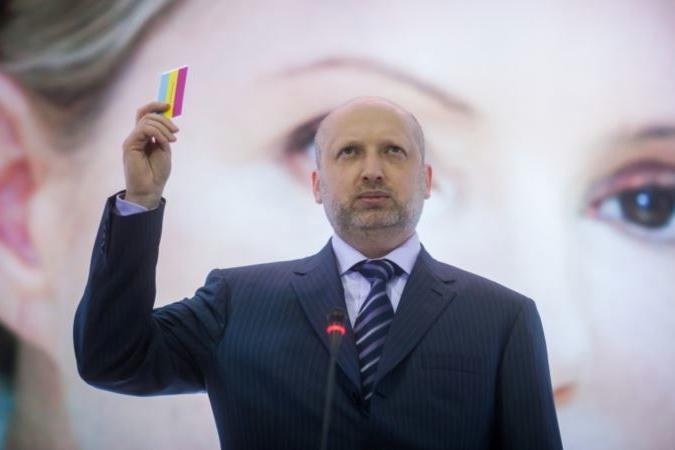 Турчинов собирается продолжить силовую операцию на юго-востоке Украины