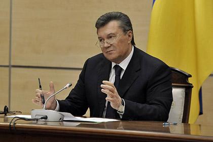 Янукович назвал происходящее на Украине после выборов кровавым фейерверком