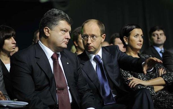 Порошенко оставит Яценюка на посту премьера