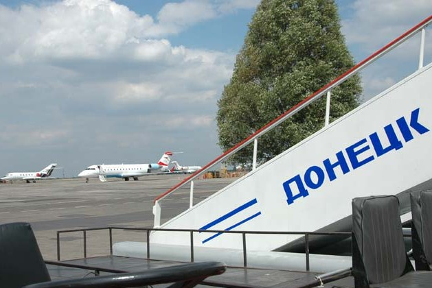 В аэропорту Донецка идет бой