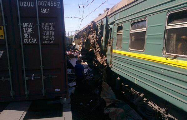 Под Наро-Фоминском произошла крупная авария на железной дороге