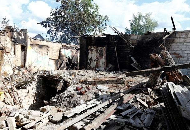 Славянск после обстрела. Гуманитарная катастрофа