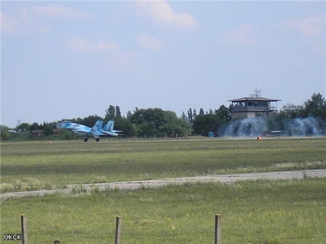 Аэродром Краматорска в кольце