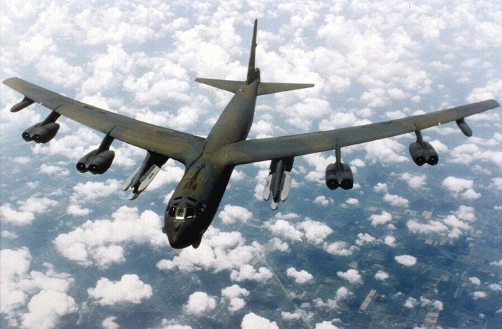США перебросили в Европу три стратегических бомбардировщика