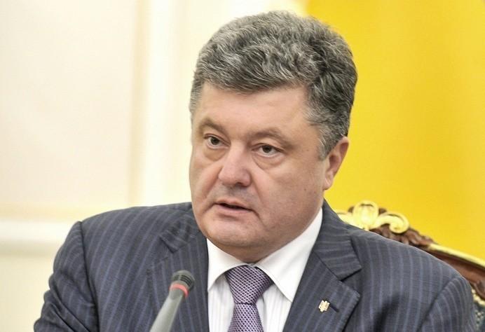 Президент Украины высказался против введения США и ЕС санкций в отношении России