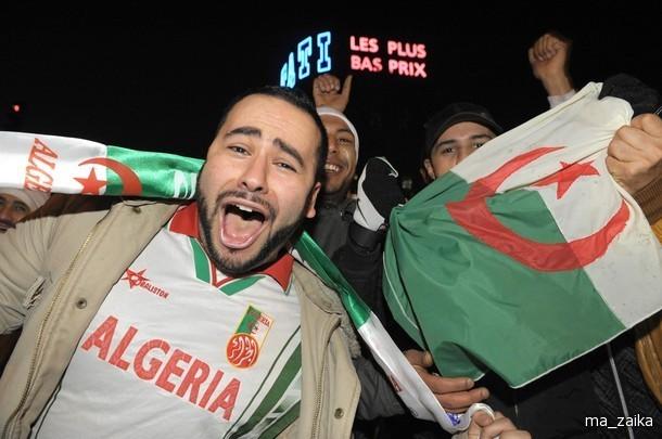 Алжирские болельщики устроили погромы во французских городах