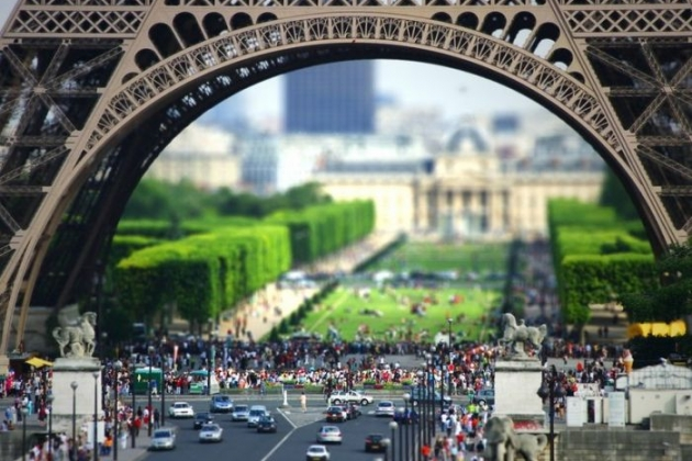 Туристы в Париже не увидят Эйфелеву башню