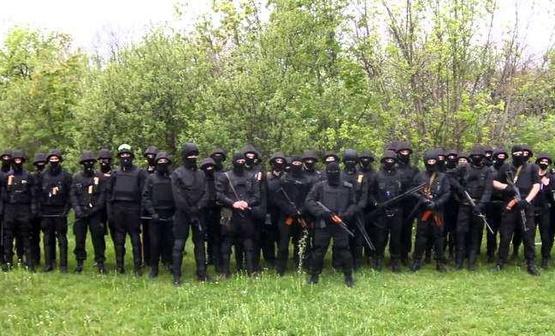 Батальон Донбасс не хочет мира и пикетирует администрацию президента