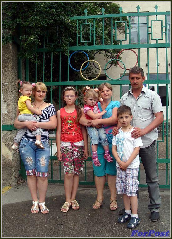 В Cевастополь прибывают беженцы