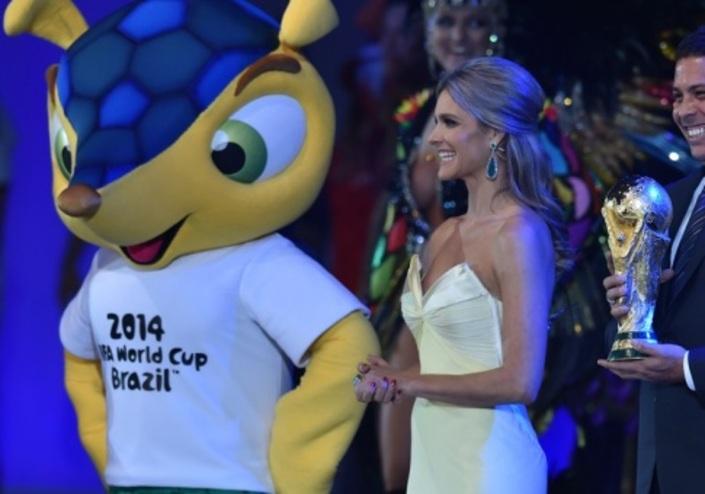 Началась церемония открытия чемпионата мира по футболу-2014