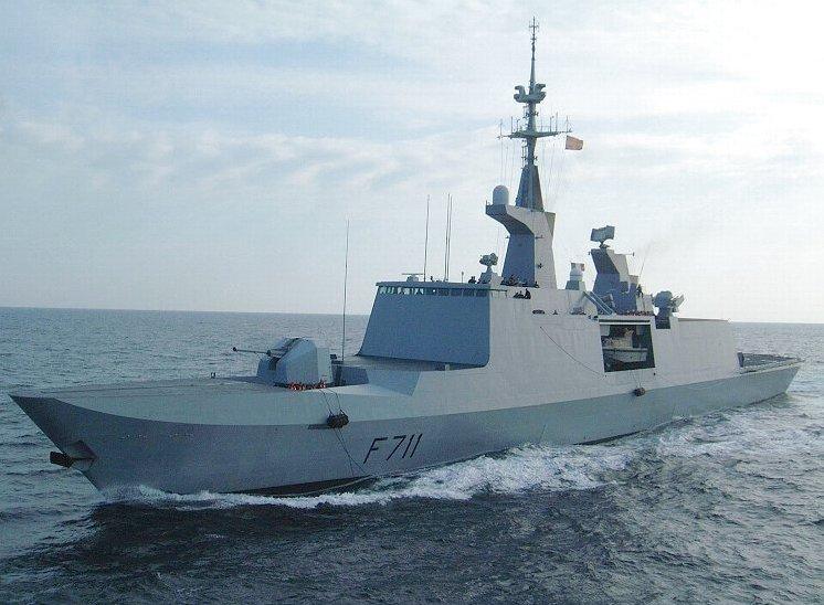 Французский фрегат
