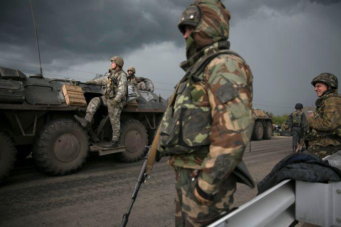 Украину опутывают новыми блокпостами на границе с Донецкой и Луганской областями