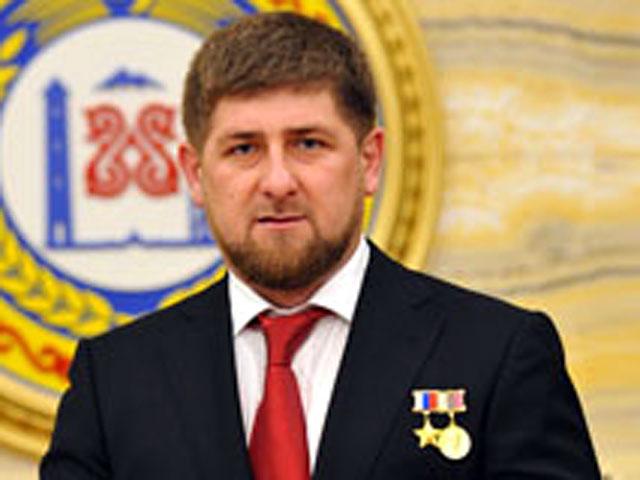 Рамзан Кадыров получил медаль