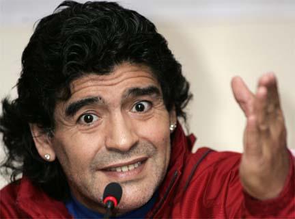 Марадона назвал Пеле и Беккенбауэра идиотами