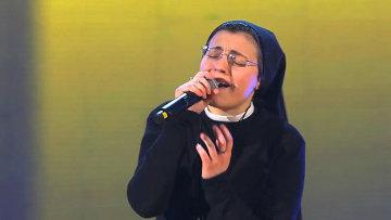 В песенном конкурсе «Голос» победила монахиня