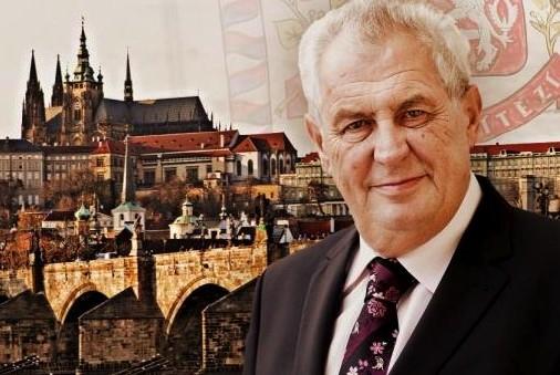 Президент Чехии против введения санкций в отношении России