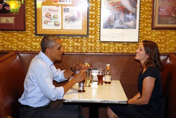 «Хождение в народ» Обамы не произвело впечатления на американцев