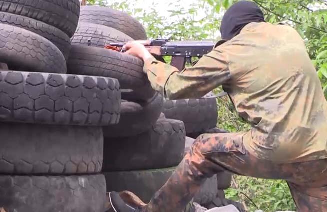 Ополченцы Донецкой области обстреляли блокпост силовиков под поселком Былбасовка. Есть раненые