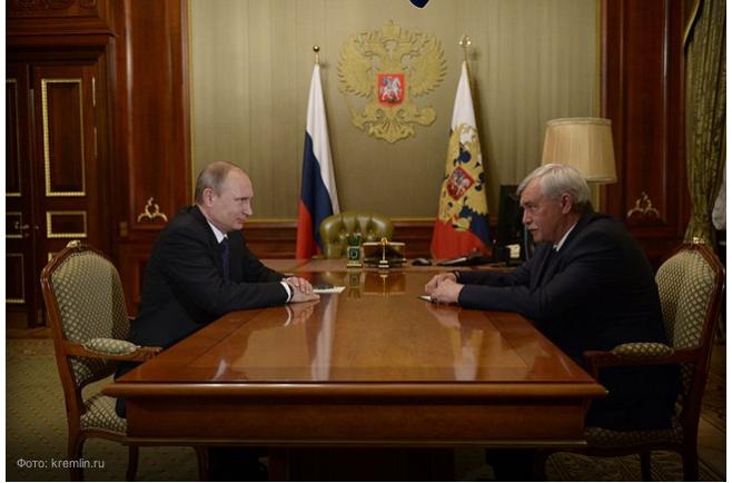 Губернатор Санкт-Петербурга тоже пошел на выборы