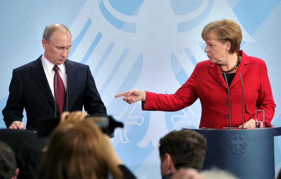 Меркель и Путин снова поговорили по телефону