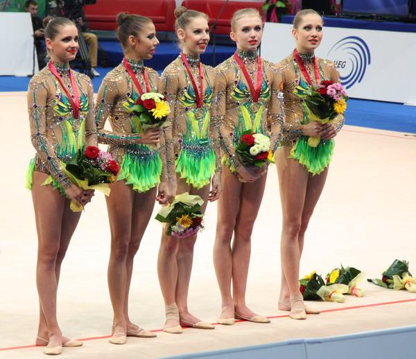 Российские гимнастки завоевали золото