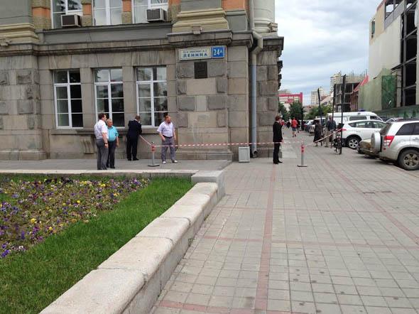 Шутник решил напугать чиновников мэрии Екатеринбурга