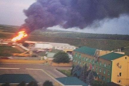 В Луганске ополченцы пошли в атаку на боевиков Нацгвардии