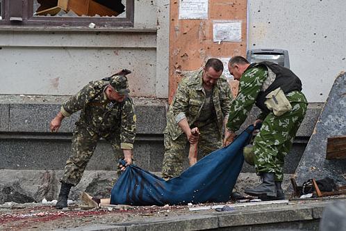 2 июня от авиабомбежки в Луганске погибли 13 мирных жителей