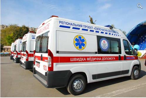 В Славянске нет топлива для машин «скорой помощи»