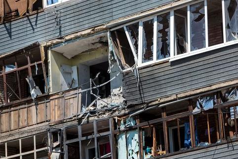 CNN: артиллерия разрушила школы и многоквартирные дома в Славянске