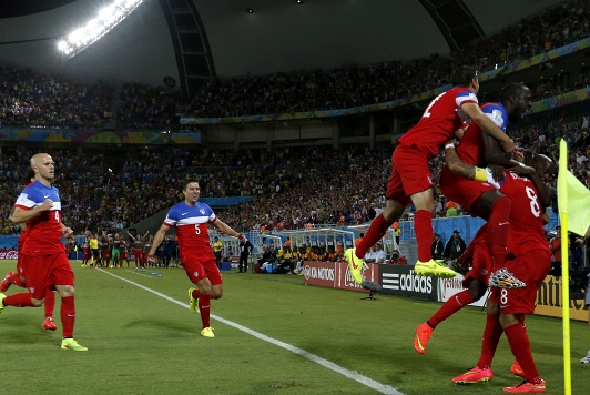 Сборная США по футболу на ЧМ обыграла Гану