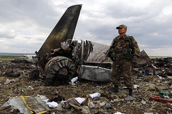 Лидер ЛНР заявил об отсутствии людей в сбитом под Луганском Ил-76