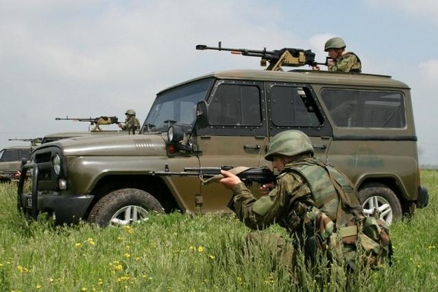 Российские миротворцы приведены в боеготовность в рамках боевой тревоги