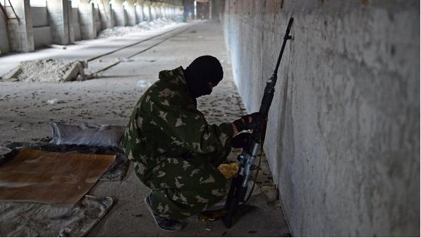 Под Донецком ополченцы атаковали блокпост украинских силовиков