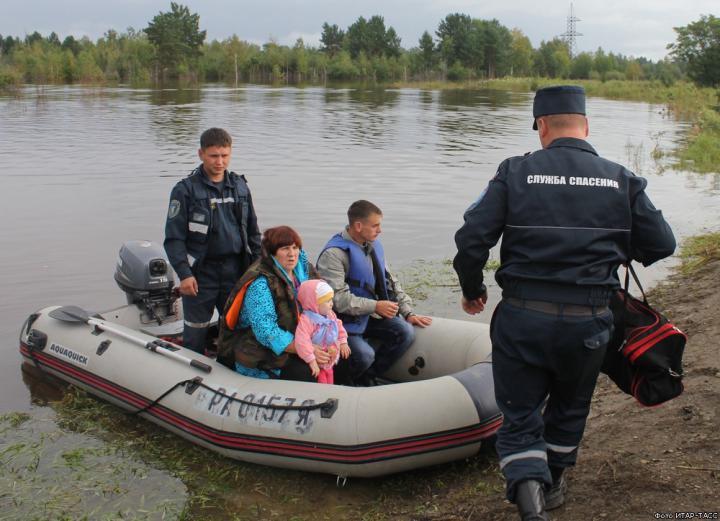 Как спасти жизнь при наводнении