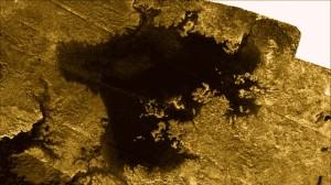 Метановое море на поверхности Титатна