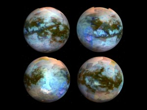 Ученые впервые выявили разные типы поверхности спутника Сатурна