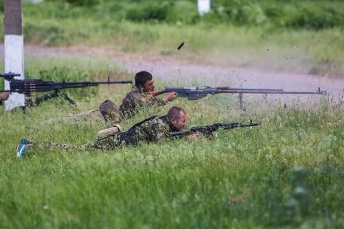 Украинские военные попытались хитростью взять позиции ополченцев