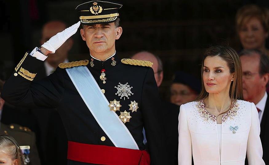 В Испании прошла коронация монарха Фелипе