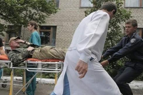 Александр Бородай рассказал, что боевики Нацгвардии расстреляли ополченцев в госпитале