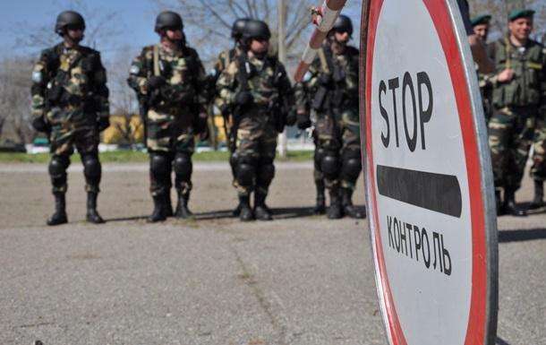Украинская армия на границе создает буферную зону