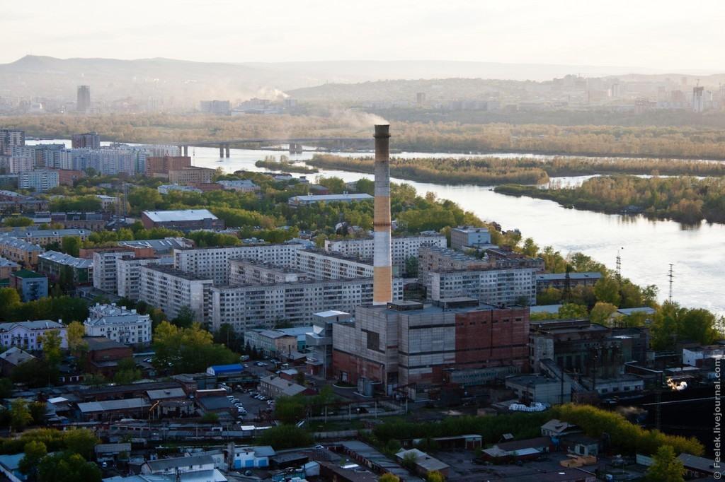 В Красноярске решили застроить жильем бывший химкомбинат