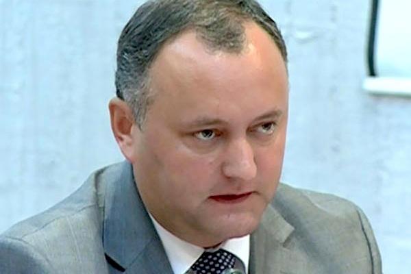 В конституцию Молдавии необходимо внести упоминание о православии – Игорь Додон