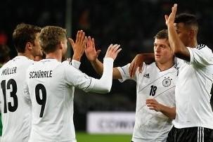 Сборная Германии разгромила Португалию