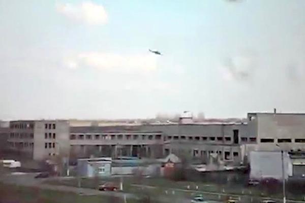 У аэропорта Краматорска подбиты две бронемашины Нацгвардии