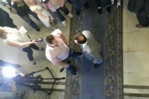 Представитель ОБСЕ осудил депутата Ляшко, который выгнал российских журналистов из Рады
