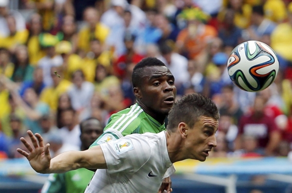 На ЧМ по футболу Франция обыграла Нигерию со счетом 2:0 и вышла в четвертьфинал